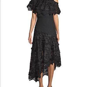 """""""Allison"""" New York Black Shoulder Dress"""